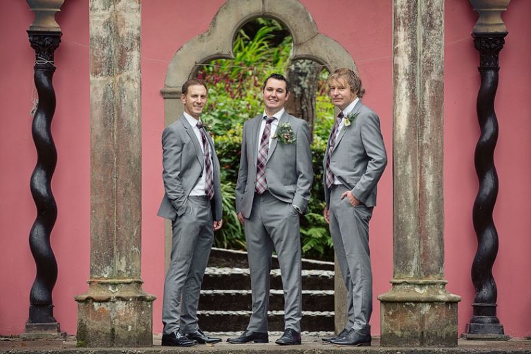 Andrew and Hannah Portmeirion Wedding Photography-1