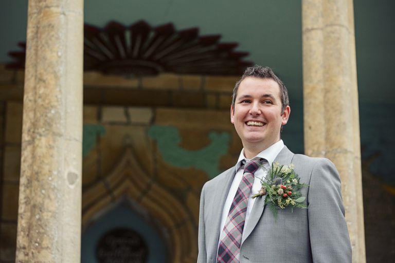 Andrew and Hannah Portmeirion Wedding Photography-2